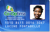 Barbados Public Workers' Co-operative Credit Union Limited (BPWCCUL) Co-Optima Cards offers discounts to members island-wide
